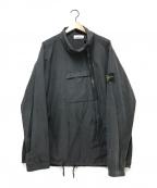 STONE ISLAND(|ストーンアイランド)の古着「ハーフジップジャケット」|ブラック
