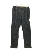()の古着「NYLON METAL PANTS」|ブラック
