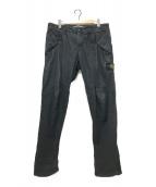 ()の古着「テーパードパンツ」|ブラック