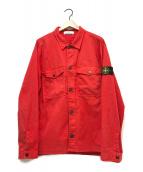 ()の古着「クラシックオーバーシャツ」|レッド