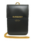 ()の古着「HORSEFERRY PRINT CLUTCH CARD C」 ブラック