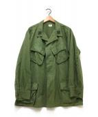 ()の古着「60'Sジャングルファティーグジャケット」 グリーン