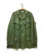 US ARMY(ユーエスアーミー)の古着「60'Sジャングルファティーグジャケット」|グリーン