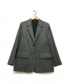 MARGARET HOWELL(マーガレットハウエル)の古着「ウールジャケット」 グレー