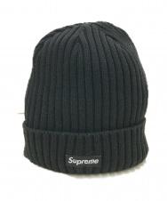 SUPREME (シュプリーム) ボックスロゴビーニー ブラック