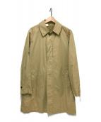 ()の古着「ステンカラーコート」|ベージュ