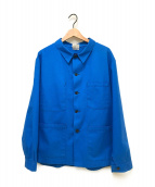 ()の古着「ヴィンテージワークカバーオール」|ブルー