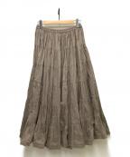 MARIHA()の古着「草原の虹のスカート」 グレー