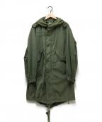 US ARMY(ユーエスアーミー)の古着「モッズコート」 グリーン