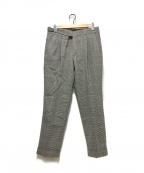 PT01(ピーティーゼロウーノ)の古着「タックパンツ」 グレー