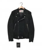 SEVESKIG(セヴシグ)の古着「EXTRA STRETCH RIDERS JKT」|ブラック