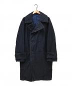 45R(フォーティファイブアール)の古着「藍納戸お米サテンのHAYAMAコート」|インディゴ