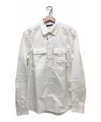 ()の古着「L/Sコットンシャツ」|ホワイト