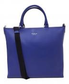 FUJITAKA(フジタカ)の古着「2WAYビジネスバッグ」|ブルー