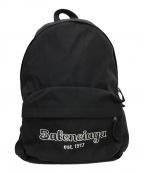 BALENCIAGA(バレンシアガ)の古着「EST. 1917 EXPLORER BACKPACK」|ブラック
