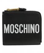 MOSCHINO(モスキーノ)の古着「L字ウォレット」|ブラック