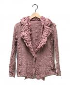 me ISSEY MIYAKE(ミー イッセイミヤケ)の古着「カリフラワージャケット」|ピンク