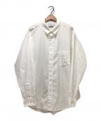Graphpaper(グラフペーパー)の古着「THOMAS MASON L/S B.D BOX SHIRT」|ホワイト