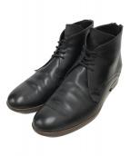 ()の古着「ヒールジップデザートブーツ」|ブラック