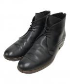 DIOR HOMME(ディオール オム)の古着「ヒールジップデザートブーツ」|ブラック