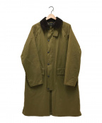 Barbour()の古着「NEW BURGHLEY」|グリーン