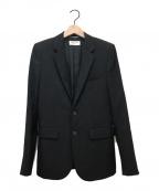 Saint Laurent Paris(サンローランパリ)の古着「スタージャガード2Bジャケット」|ブラック