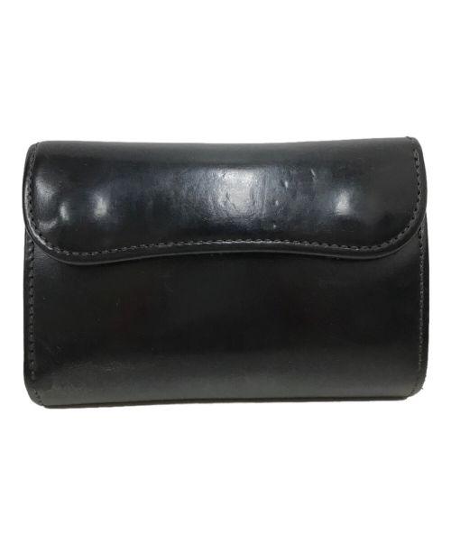 WILDSWANS(ワイルドスワンズ)WILDSWANS (ワイルドスワンズ) シェルコードバンBYRNE ブラックの古着・服飾アイテム