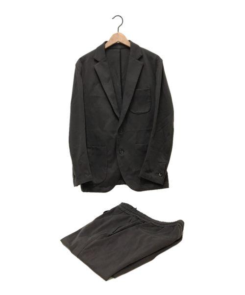 AKM(エーケーエム)AKM (エーケーエム) イージセットアップスーツ ブラウン サイズ:ジャケットL パンツXLの古着・服飾アイテム
