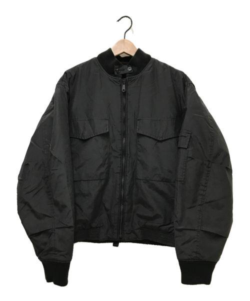 RRL(ダブルアールエル)RRL (ダブルアールエル) ナイロンデッキジャケット ブラック サイズ:Mの古着・服飾アイテム
