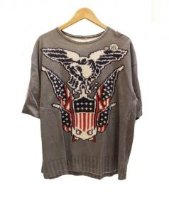 VOTE MAKE NEW CLOTHES(ヴォート メイク ニュー クローズ)の古着「ビッグTシャツ」|グレー