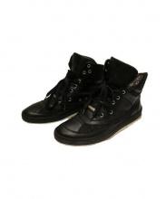 Dior Homme(ディオールオム)の古着「ハイカットスニーカー」|ブラック
