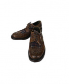 barbour by JOSEPH CHEANEY & SONS(バブアー×ジョセフチーニー)の古着「Althorp Brogue」|ブラウン×ネイビー