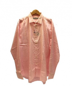ETRO(エトロ)の古着「ジャガードペイズリー柄シャツ」|ピンク