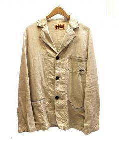 WEIRDO(ウィアード)の古着「プリペラテーラードジャケット」|アイボリー