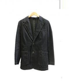 A.P.C(アーペーセー)の古着「デニムテーラードジャケット」|インディゴ