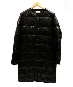EN ROUTE(アンルート)の古着「オリジナルダウンコート」 ブラック
