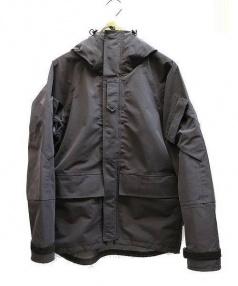 WILD THINGS(ワイルドシングス)の古着「3LAYER MIG MOUNTAIN PARKA」 ネイビーがかったブラック