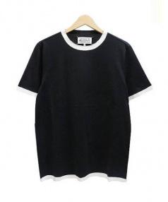 Martin Margiela 10(マルタンマルジェラ 10)の古着「トリムTシャツ」|ブラック