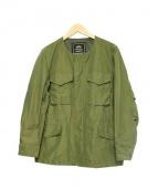 ALPHA(アルファ)の古着「M-65 FIELD JACKET」 オリーブ