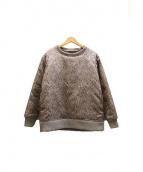 NuGgETS(ナゲッツ)の古着「中綿スウェット」|グレー