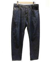 DIESEL(ディーゼル)の古着「トラクター デニムパンツ」|ネイビー