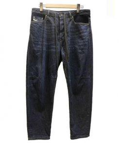 DIESEL(ディーゼル)の古着「トラクター デニムパンツ」 ネイビー