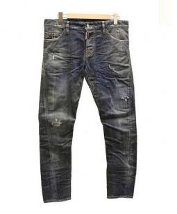 DSQUARED2(ディースクエアード)の古着「SEXY TWIST JEAN デニムパンツ」|インディゴ