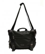 TUMI(トゥミ)の古着「メッセンジャーバッグ」|ブラック