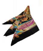 HERMES(エルメス)の古着「シルクスカーフ」|ブラック