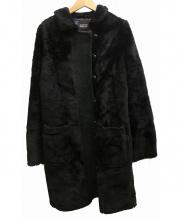 SONIA BY SONIA RYKIEL(ソニアバイソニアリキエル)の古着「ラムファーコート」|ブラック