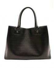 agnes b(アニエスベー)の古着「レザートートバッグ」|ブラック
