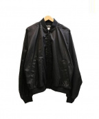 BLACK COMME des GARCONS×NIKE(ブラックコムデギャルソン×ナイキ)の古着「バックプリントブルゾン」|ブラック