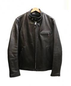 Schott(ショット)の古着「ライナー付シングルライダースジャケット」|ブラック