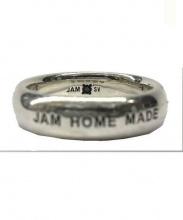 JAM HOME MADE(ジャムホームメイド)の古着「ダイヤモンドラウンドリングM」|ブラック×ホワイト
